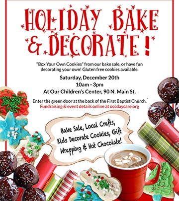 Bake Sale And Cookie Decorating Event In West Hartford