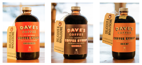 Daves Coffee Syrup Glee Gum And Threadfollower Among Rhode