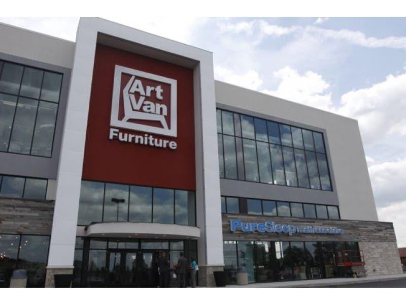 sneak peek: art van furniture flagship in downers grove opening soon