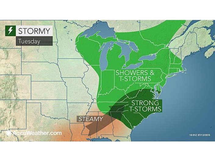 WEATHER UPDATE: Stormy Weather Possible This Week in Madison
