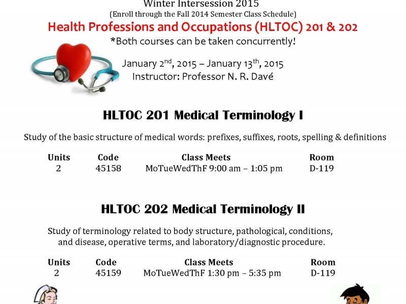 medical terminology courses open for enrollment! complete medical ...