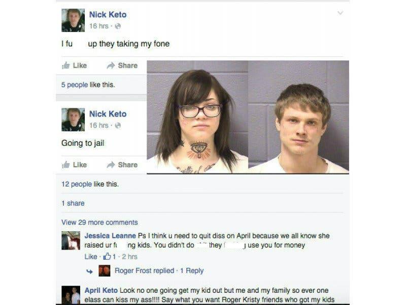 Going to Jail' - Joliet Man Posts on Facebook During His Arrest
