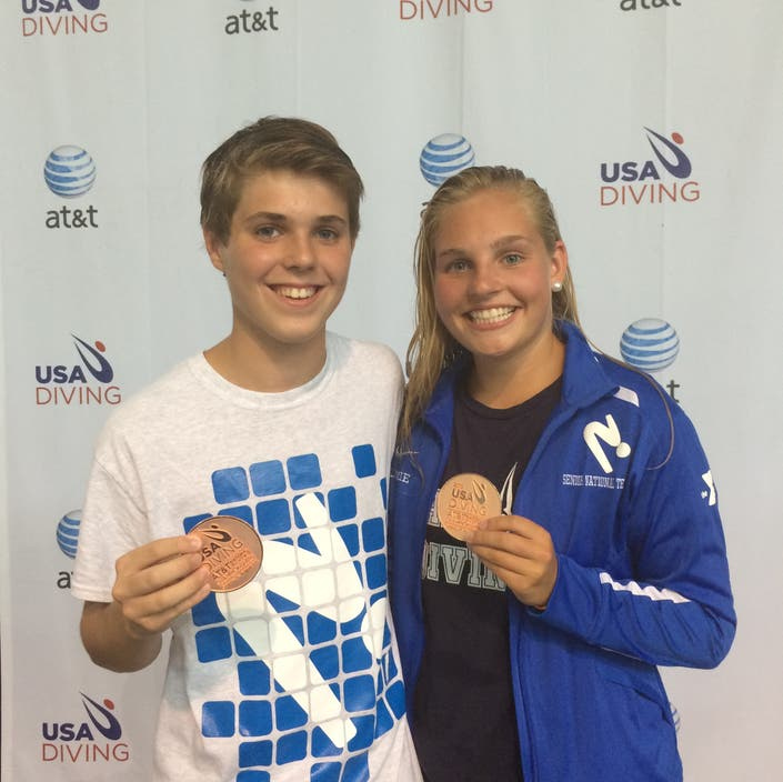 Greenwich YMCA Marlins Dive Team Fares Well at Nationals