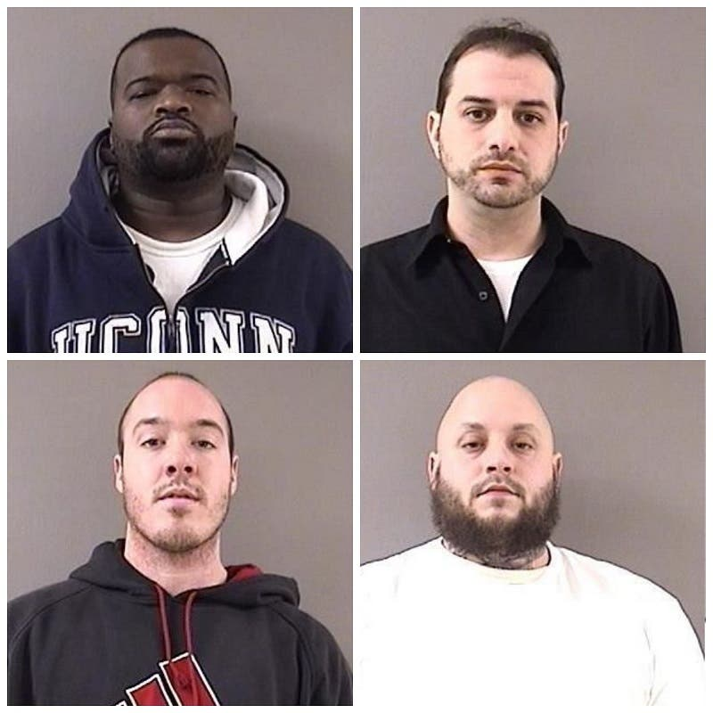 Wallingford Drug Bust: Four Charged with Selling Cocaine at