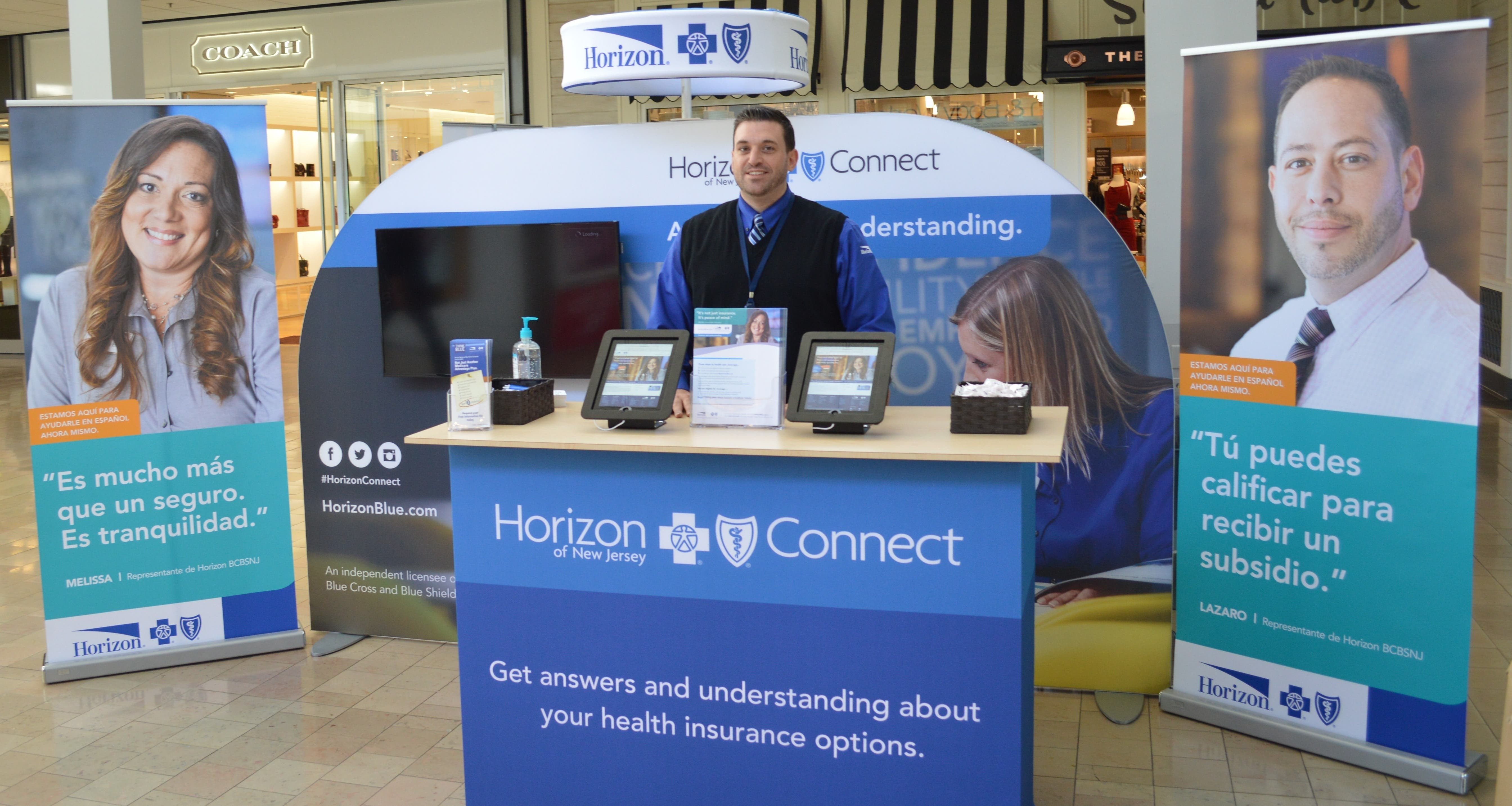 Now at a shopping mall near you: Answers to your health insurance