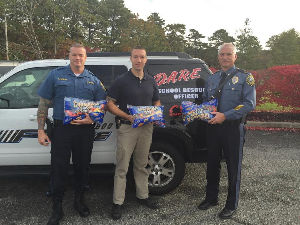 Sweet Patrols Beachwood Police On Halloween Watch Will