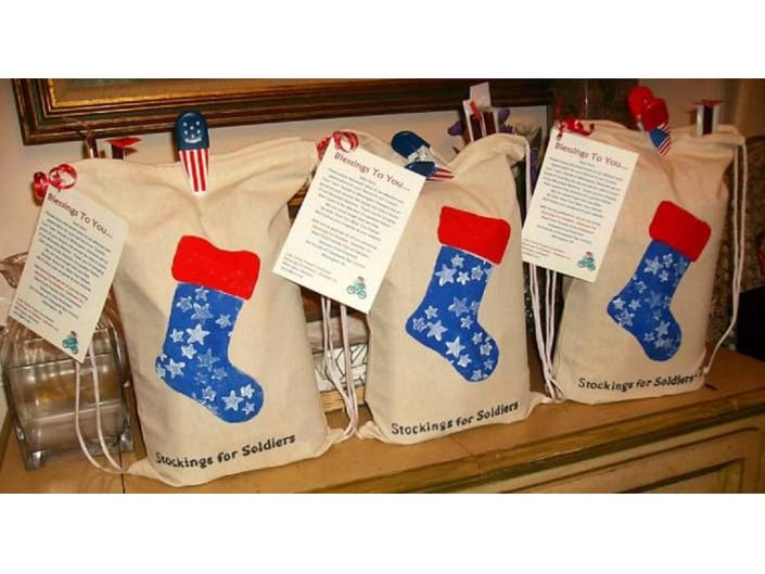 13a8571fee7 Help Brick American Legion Stuff Stockings For Soldiers
