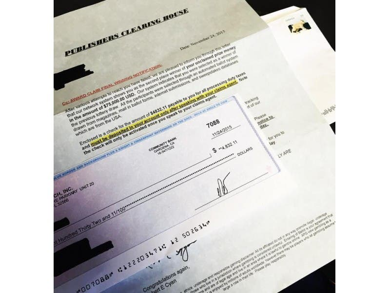 Dont Fall For This Bogus Publishers Clearing House Letter