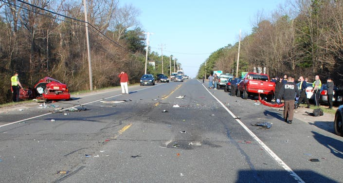Browns Mills Man Dies 3 Others Hurt In 4 Car Crash On Route 70 Police Manchester Nj Patch