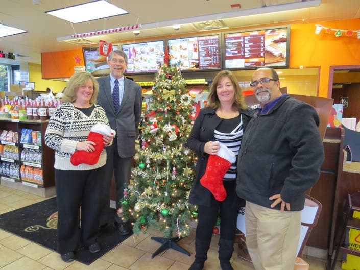 Weymouth Dunkin Donuts Holds 14th Annual Holiday Drive