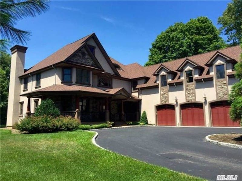Wow House Custom Colonial With 3 Car Garage Half Hollow Hills Ny