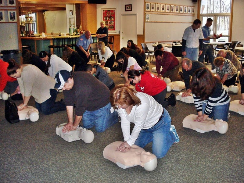 Local Fire Department Offers Free Cpr Course Syosset Ny Patch