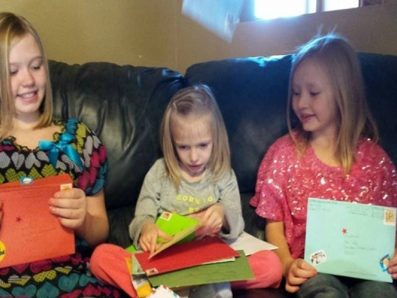 dying 6 year old just wants cards for her last christmas - What To Get 6 Year Old Little Girl For Christmas