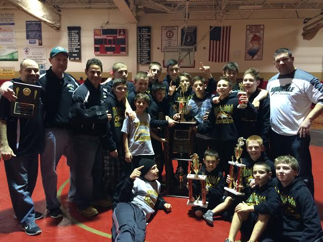 Montville Broncos Wrestling Has Undefeated Season