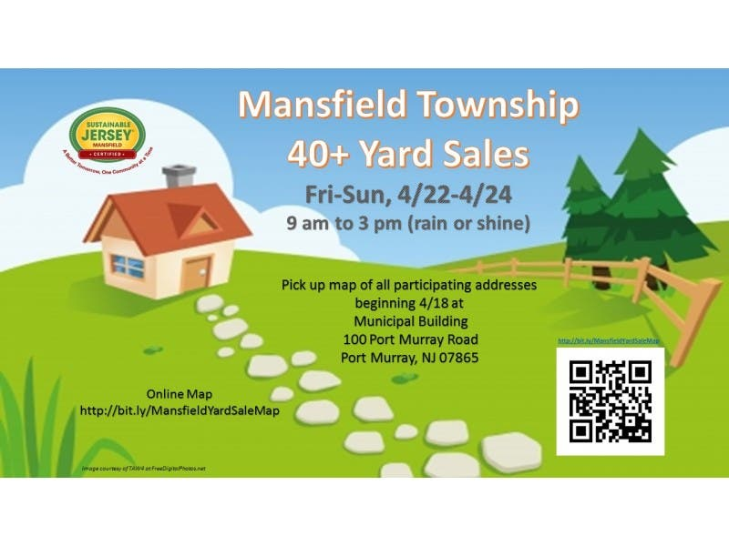 township wide yard sale mansfield township warren co