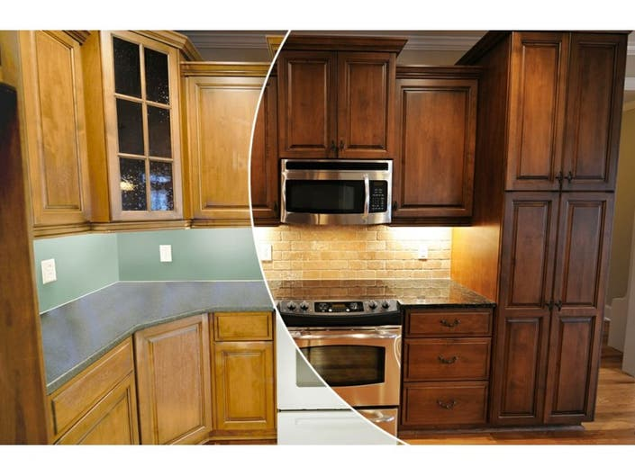 N Hance Wood Renewal Revamps Kitchen Cabinets And Floors Of Baltimore Homes Businesses