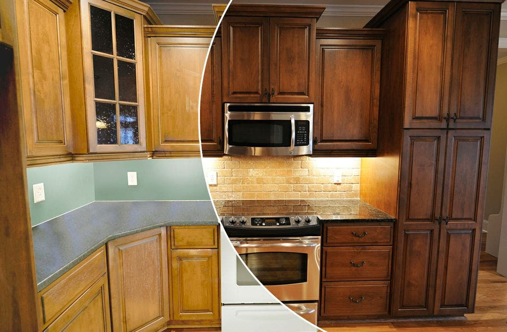 N Hance Wood Renewal Revamps Kitchen Cabinets And Floors Of