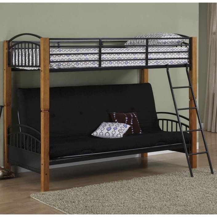 Futon Bunk Bed Includes Deluxe