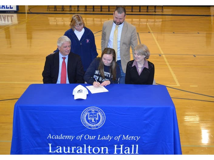 National Letter of Intent Signing at Lauralton Hall. | Milford, CT