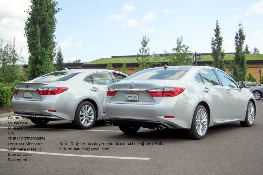 FOR SALE: 2013 Lexus ES 350 Base $10,800USD!!!   Chestnut
