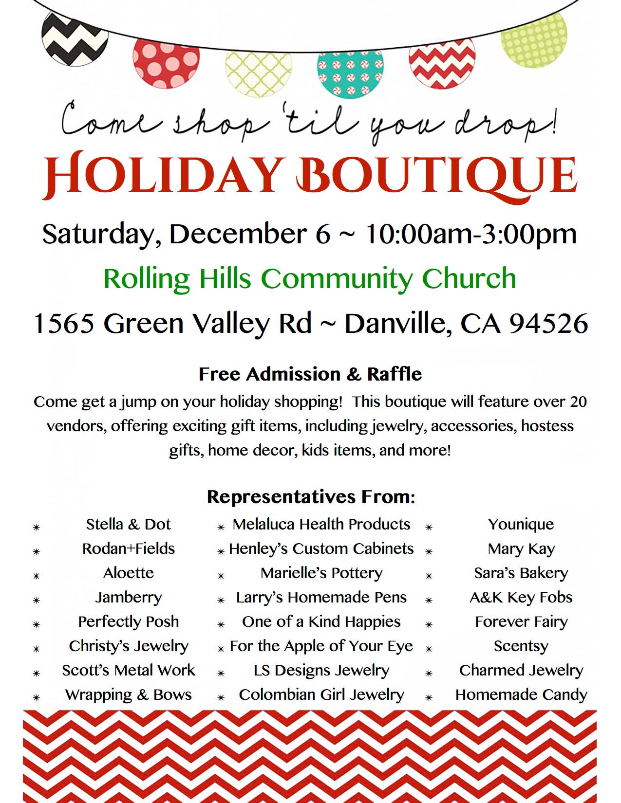 Holiday Boutique | Danville, CA Patch