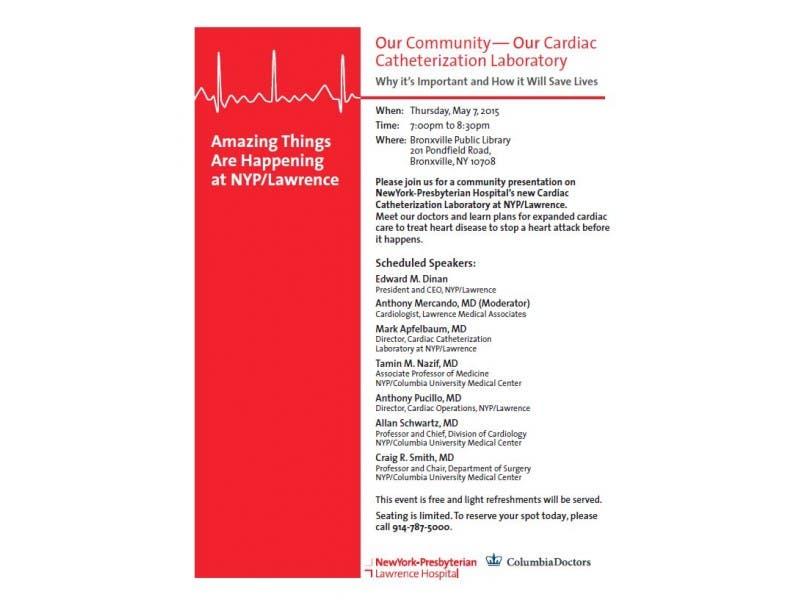 Community Presentation on NewYork/Presbyterian Hospital's