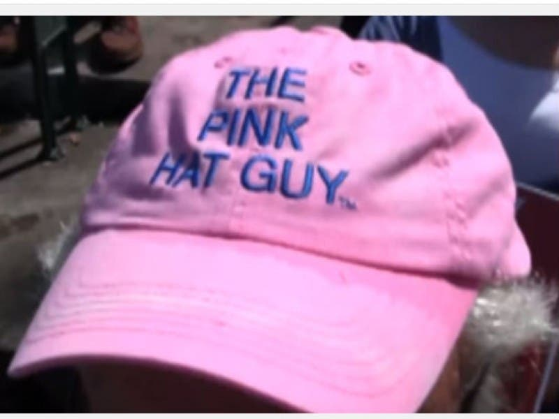 Wrigley Field s  Pink Hat Guy  is From Highland Park  d9290fb9253