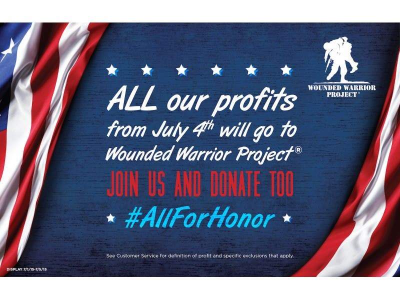 wounded warriors donations