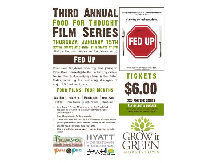 Fed Up With Movies Like Fed Up >> Fed Up The Movie Morristown Nj Patch