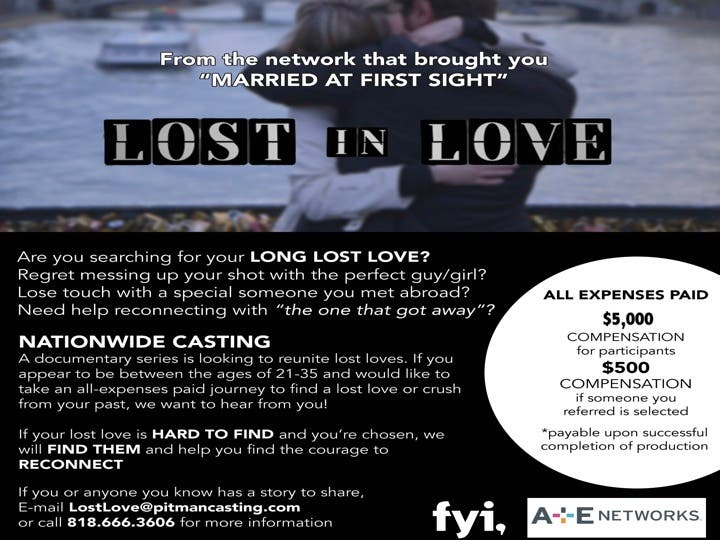 A reconnecting love with lost 12 Signs