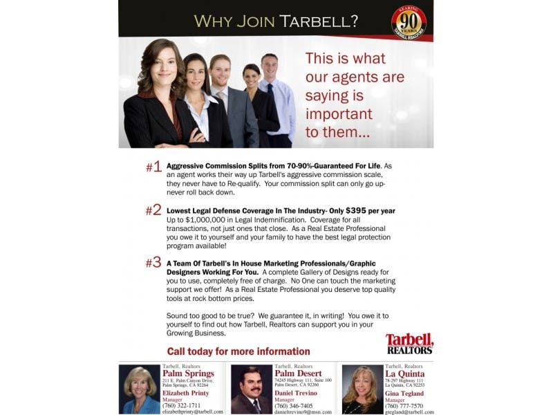 Why Join Tarbell Realtors