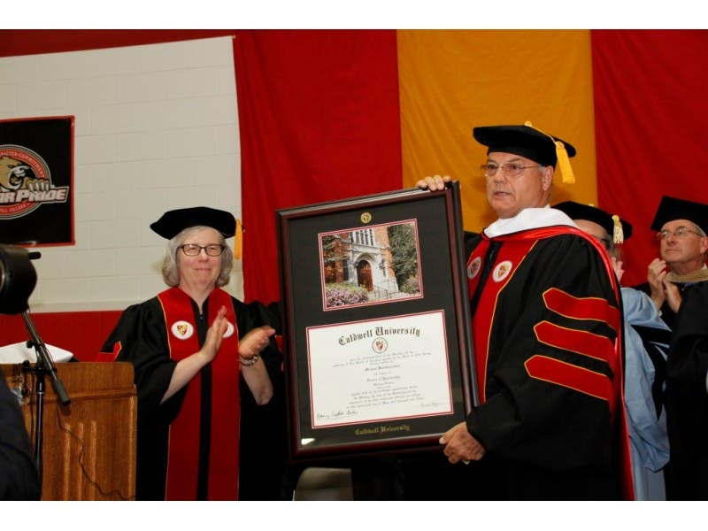 Caldwell Business Owner Receives Honorary Degree For Autism