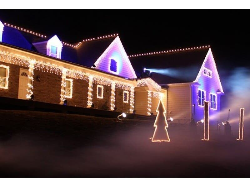 WATCH: NJ Professor Rigs Amazing Christmas Light Show | Newark, NJ Patch