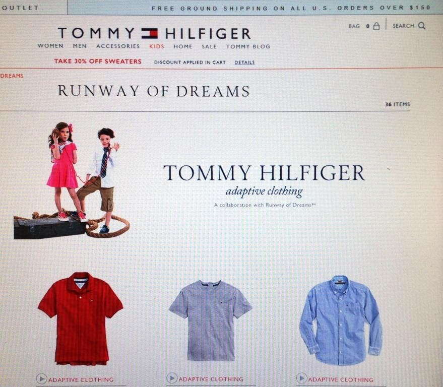 c5b89e0b3 Tommy Hilfiger, Livingston Mom Launch Clothing Line For Disabled Kids