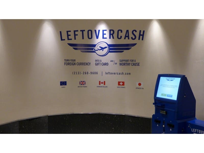 Leftovercash Kiosk Converts Leftover Foreign Bills And Coins Into