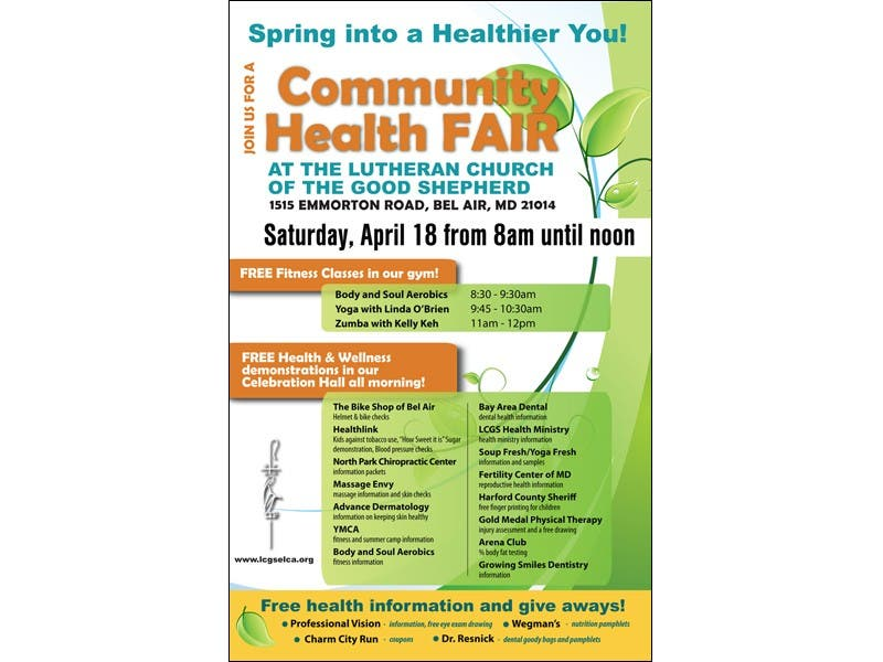 spring into some healthy fun at the lutheran church of the good