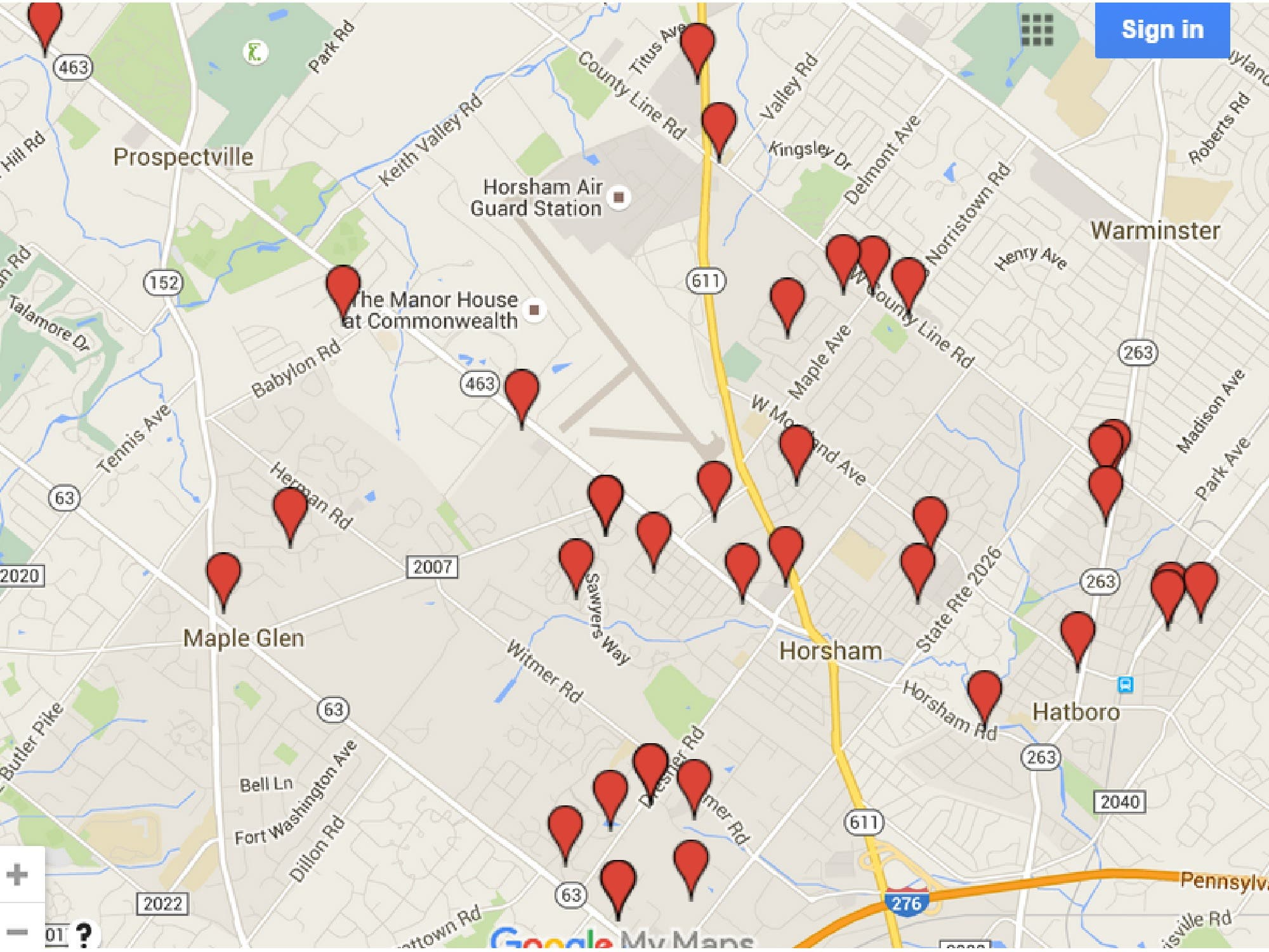sex offender map reeders pa
