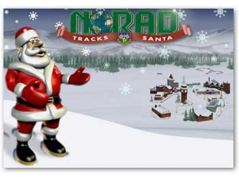 norad santa tracker how far is he from montco