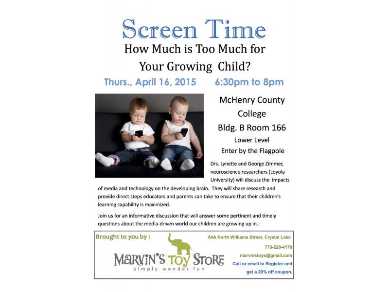 Screen Time How Much Is Too Much For Your Growing Child Crystal