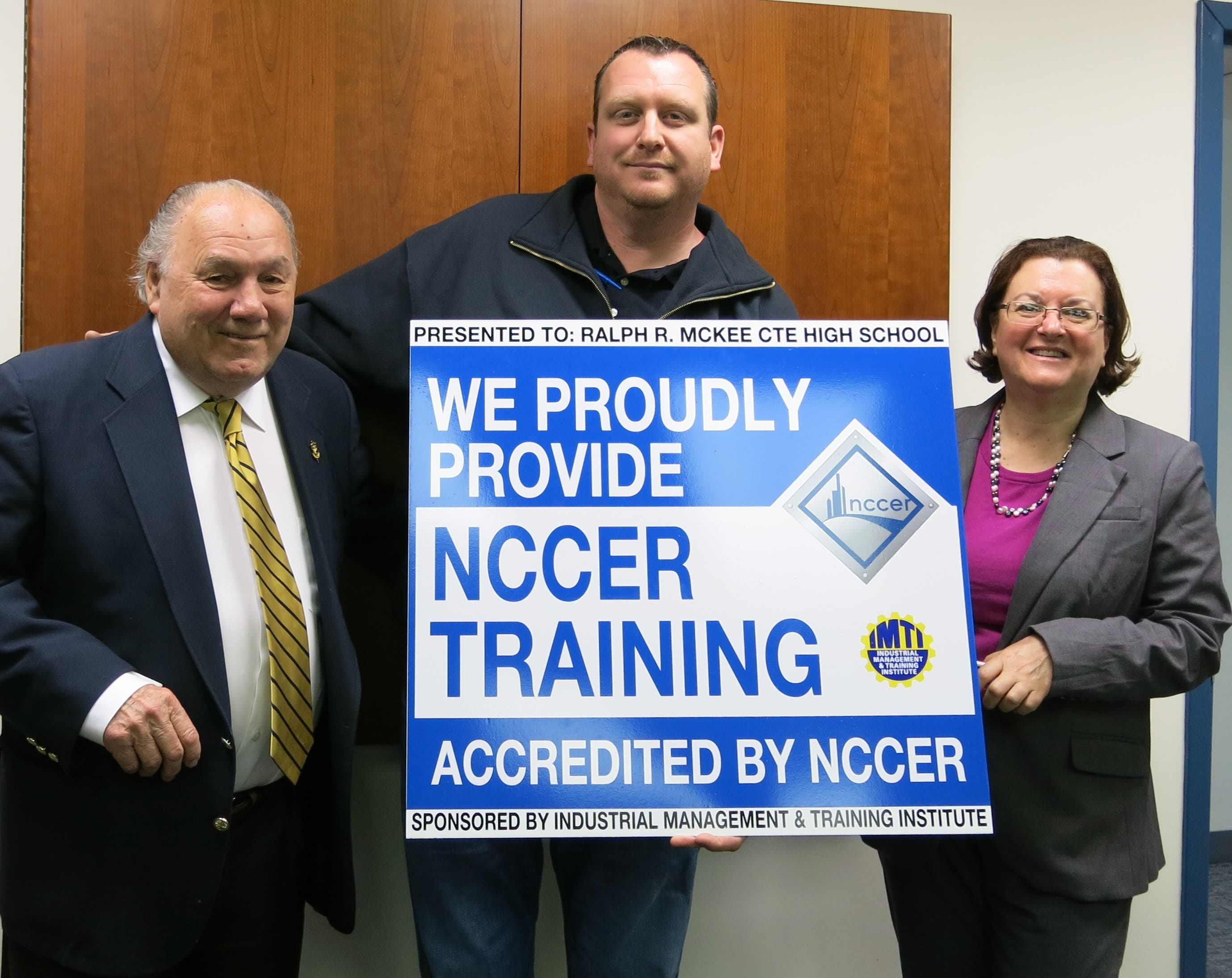 IMTI Recognized by NYC Deptmt  of Education for NCCER