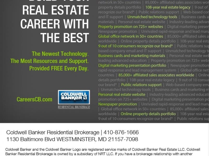 real estate licensing classes | westminster, md patch