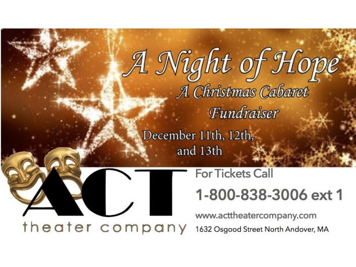 An Evening of Hope: A Christmas Cabaret at the ACT Theater