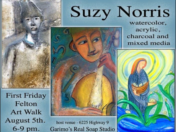Friday August 1st Free Community >> First Friday Felton Art Walk August 5 Santa Cruz Ca Patch