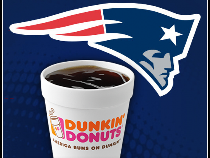 Dunkin' Donuts to Give Away Free Coffee When Patriots Win ...