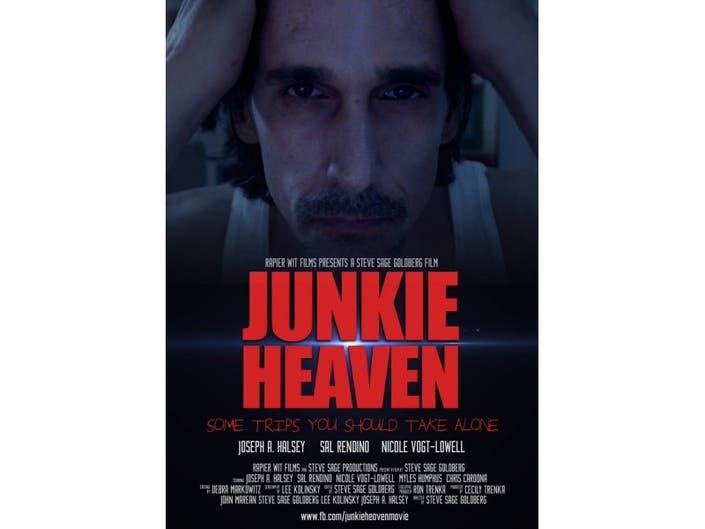 Junkie Heaven World Premiere at LIIFE, Sunday, July 12 9:30