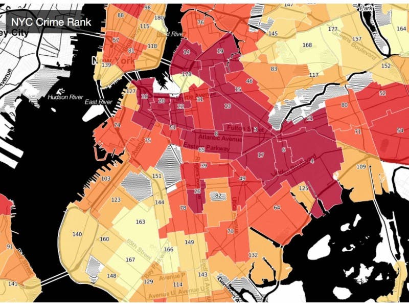 MAP: How Crime-Ridden Is Your Brooklyn Neighborhood? | Ditmas Park