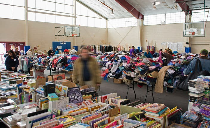 Massive Rummage Sale A North Shore Tradition Beverly Ma