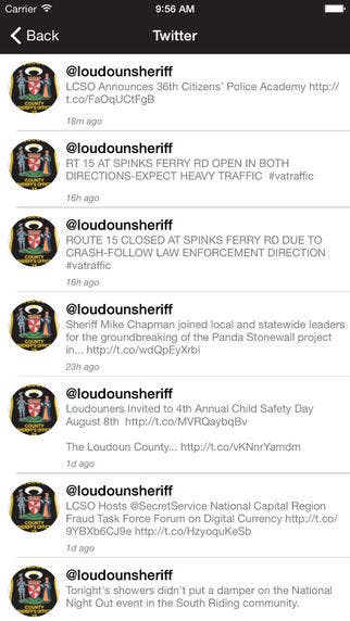 LCSO Creates Law Enforcement Application for Mobile Devices