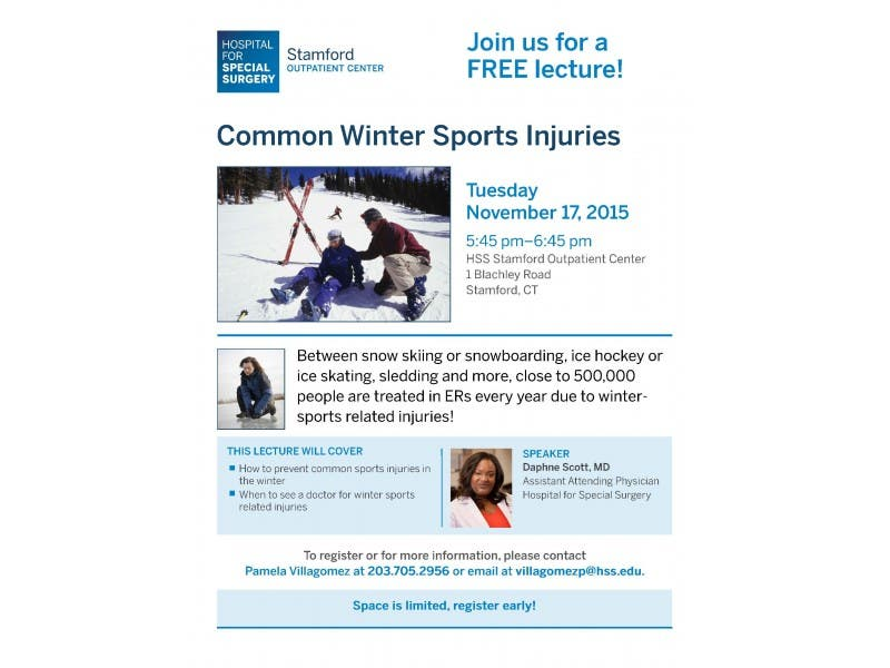 Common Winter Sports Injuries Stamford Ct Patch