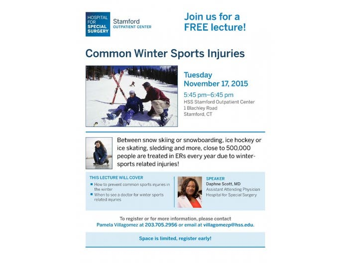 Common Winter Sports Injuries   Stamford, CT Patch